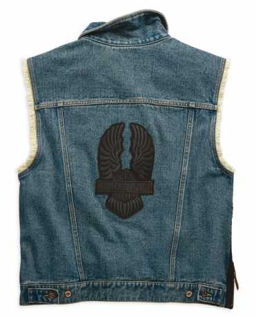 H-D Motorclothes Men's Blowout Slim Fit Denim Vest  - 99257-19VM