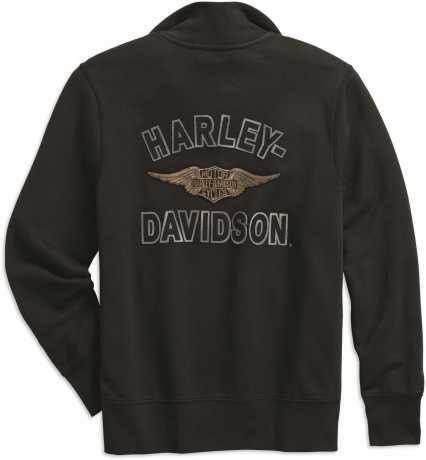 H-D Motorclothes Harley-Davidson 1/4-Zip Pullover Felt Letter  - 99289-19VM