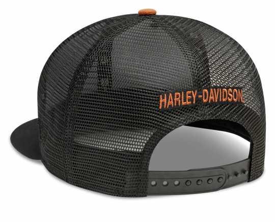 H-D Motorclothes Harley-Davidson Baseball Cap Stripe & Logo 9FIFTY® black & orange  - 99410-20VM