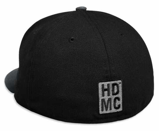 H-D Motorclothes Harley-Davidson Tonal #1 59FIFTY Cap, black  - 99424-18VM
