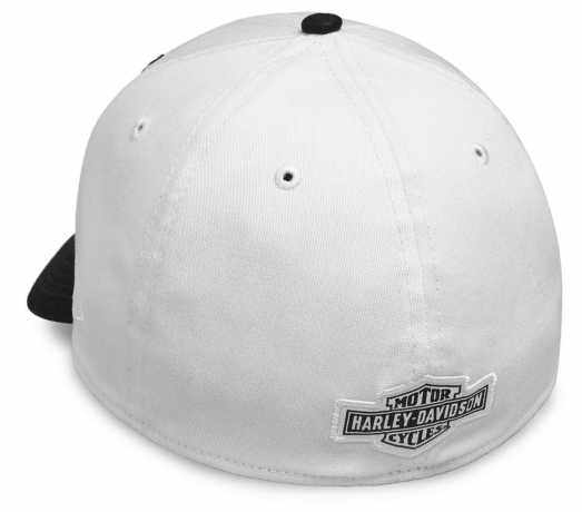 H-D Motorclothes Harley-Davidson Embroidered Eagle 39THIRTY Cap, black & white S - 99427-18VM/000S