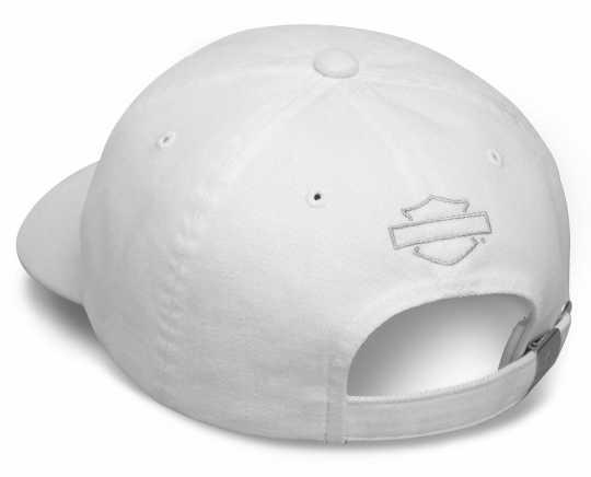 H-D Motorclothes Harley-Davidson Baseball Cap Phantom, weiß  - 99455-17VM