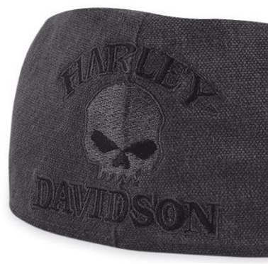 H-D Motorclothes Harley-Davidson Cotton Skull Ivy Cap S - 99471-10VM/000S