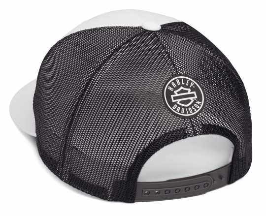 H-D Motorclothes Harley-Davidson Trucker Cap Colorblocked black & white  - 99472-19VM
