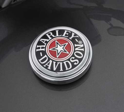Harley-Davidson Fuel Cap Medallion  Cloisonné  - 99537-96A