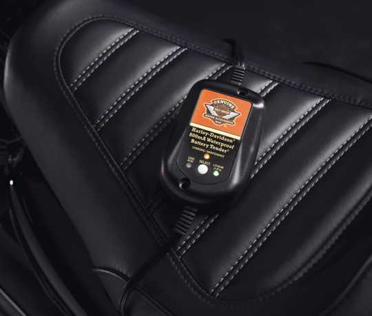 Harley-Davidson H-D Ladegerät Battery Tender, 800 mA (Wasserdicht)  - 99814-09V