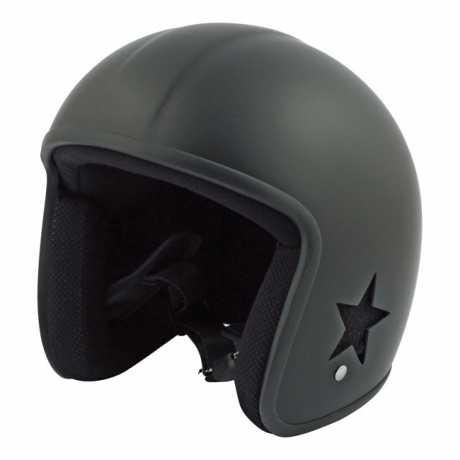 Bandit Bandit SKY II Jet Helm, schwarz matt  - SKYV