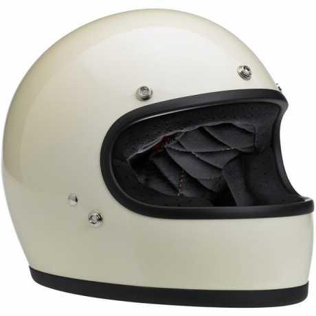 Biltwell Biltwell Gringo Helmet DOT gloss vintage white  - 61-9934V