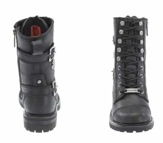 H-D Motorclothes Harley-Davidson Damen Stiefel Balsa, schwarz 38 - D83853/38