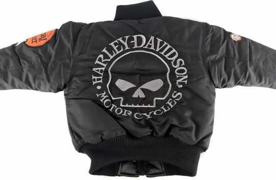 H-D Motorclothes Harley-Davidson Kinder Reversible Bomberjacke  - F9CBT70HD