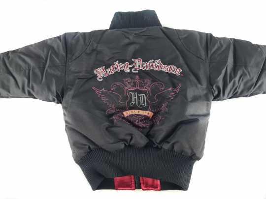 H-D Motorclothes Harley-Davidson Girls Reversible Bomber Jacket  - F9CGA72HD