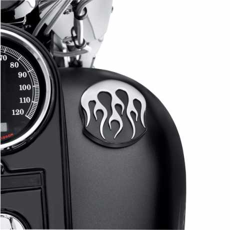 Harley-Davidson Fuel Cap Midnight Flames  - 75343-10