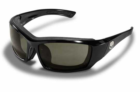 H-D Motorclothes Harley-Davidson Wiley X Sunglasses, smoke grey / gloss black frame  - HATAT01