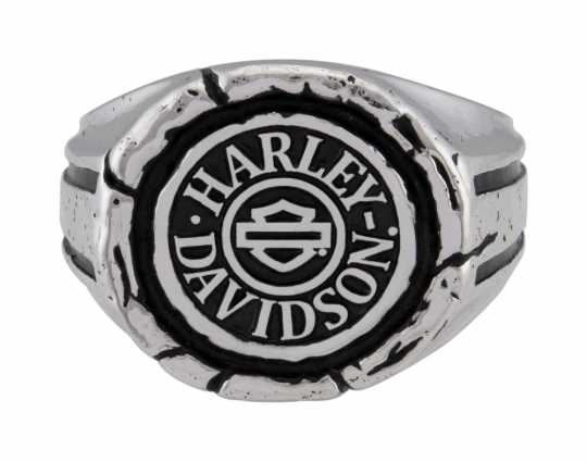 H-D Motorclothes Harley-Davidson Ring Men's Bar & Shield Wax Seal  - HDR0544