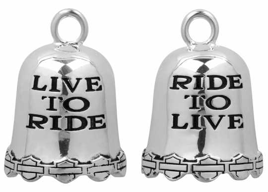 H-D Motorclothes Harley-Davidson Ride Bell Live to Ride  - HRB028