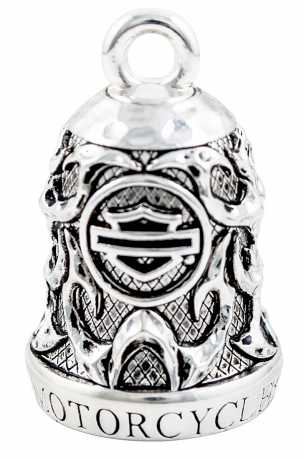H-D Motorclothes Harley-Davidson Ride Bell Willie G Skull & Tribal Flame  - HRB074