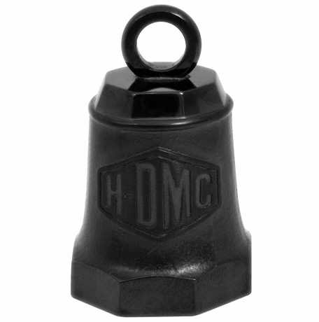 H-D Motorclothes H-DMC Black on Black Matte Ride Bell  - HRB093