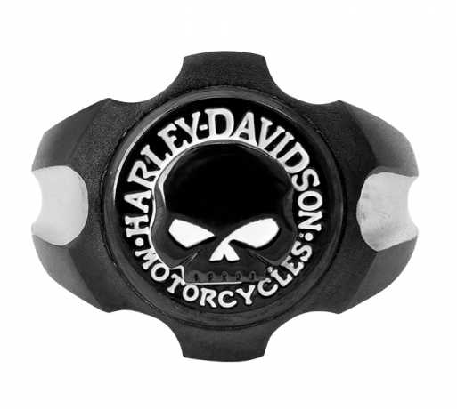 H-D Motorclothes Harley-Davidson Ring Axel Skull black  - HSR0058