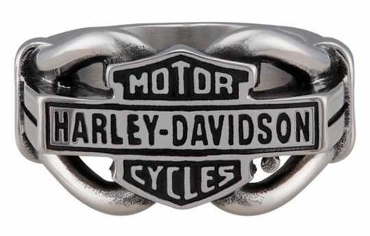 H-D Motorclothes Harley-Davidson Ring Vintage Bar & Shield Hardware 12 - HSR0080-12