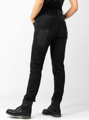 John Doe John Doe Betty women´s Biker Jeans Black Used  - JDD4010