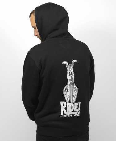 John Doe John Doe Zip Hoodie Ride black  - JDH7009