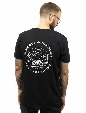 John Doe John Doe T-Shirt Flagstaff Black  - JDS6036