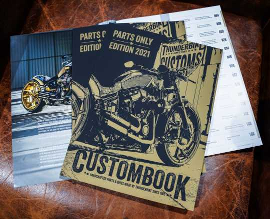 Thunderbike Thunderbike Katalog 2021 Parts-Only Edition  - KATAHD2021