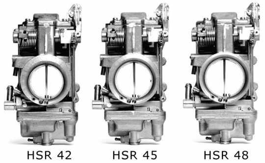 Mikuni Mikuni HSR 42 Vergaser poliert  - 23-866