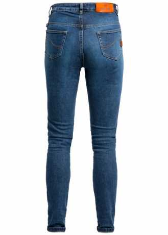 John Doe John Doe women´s Jeans Luna High Mono Dark Blue Used  - MJDD4007