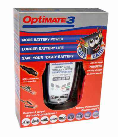 Optimate Optimate 3 Battery Charger  - 46-99-011