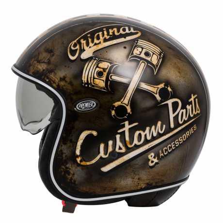 Premier Helmets Premier Vintage Jethelm OP 9 BM  - PR9VIN71