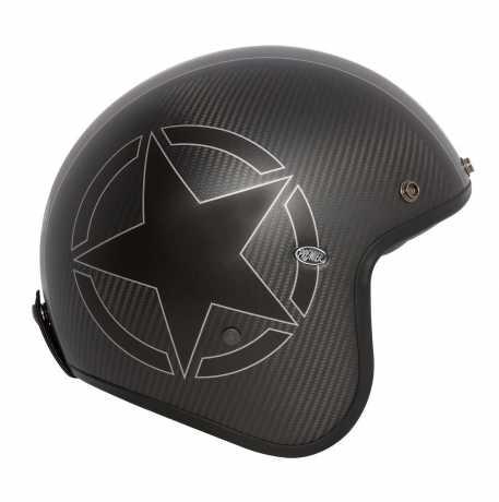 Premier Helmets Premier Le Petit Jethelm Star Carbon Bm  - PR9PET15V