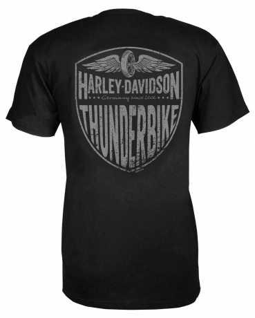 H-D Motorclothes Harley-Davidson T-Shirt Willie G Skull schwarz  - R004205V