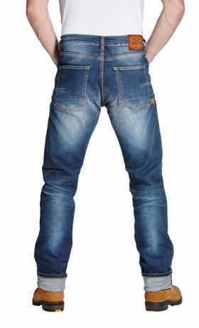 Rokker Rokker Biker Jeans Iron Selvage blue  - ROK1050V