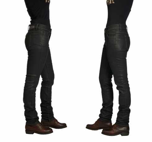 Rokker Rokkertech Jeans Lady Balck 36 | 32 - 2411L32W36
