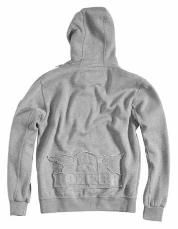 Rokker Rokker Zip Hoodie Light Grey  - ROK5201