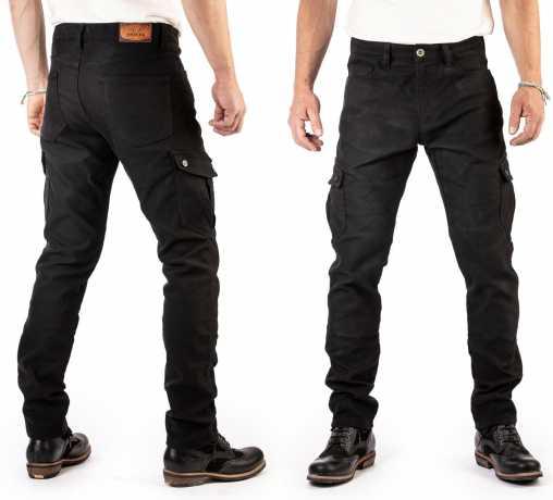 Rokker Rokker Black Jack Slim Jeans black  - ROK1101