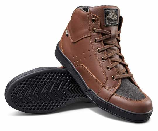 Roland Sands Design RSD Shoes Fresno Tobacco brown  - 562703V