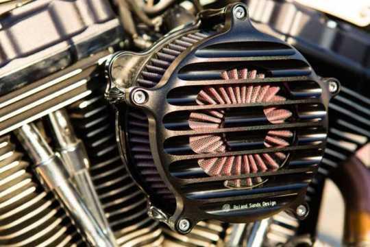 Roland Sands Design RSD Luftfilter Nostalgia, Black Ops  - 89-5800