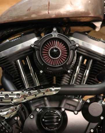 Roland Sands Design RSD Luftfilter Turbine, Black Ops  - 89-5807