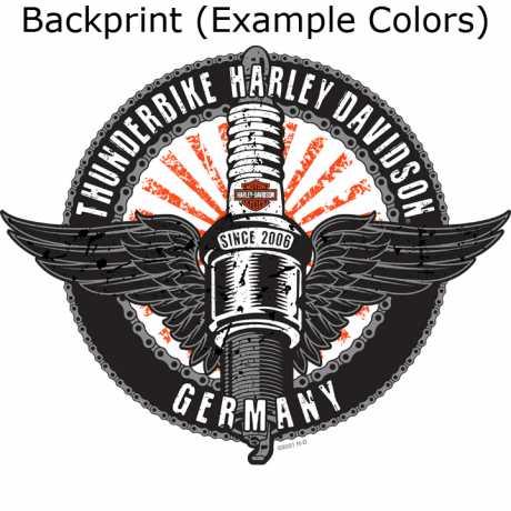 H-D Motorclothes Harley-Davidson T-Shirt Race Shadow grau  - R0040203V