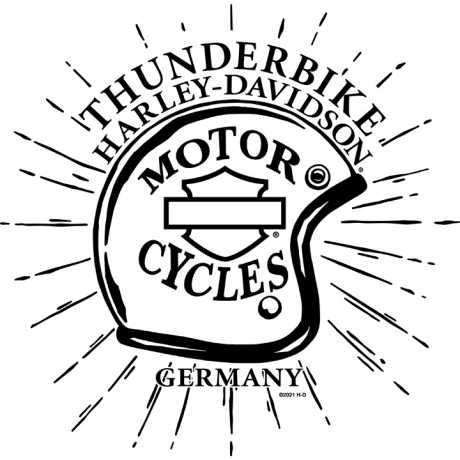 H-D Motorclothes Harley-Davidson Muscle Shirt Scribble Shield grau  - R0040674V