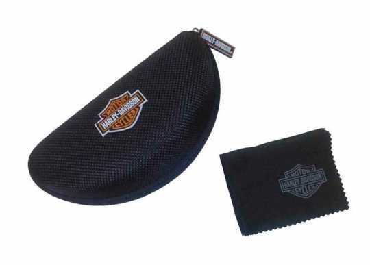 H-D Motorclothes Harley-Davidson Sunglasses Gem Smoke Grey Silver Flash  - HDGEM07
