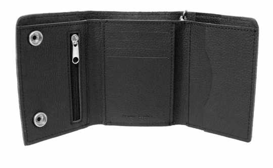 H-D Motorclothes Harley-Davidson Biker Tri-Fold Wallet Bar & Shield, medium  - XML4328