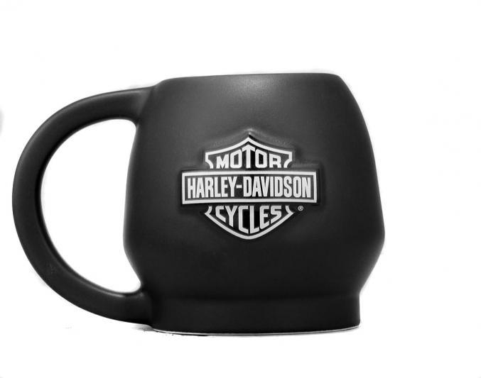 99203 17v harley davidson tasse skull schwarz matt im thunderbike shop. Black Bedroom Furniture Sets. Home Design Ideas
