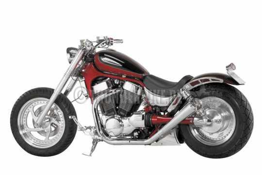 Thunderbike Solo Seat vinyl black  - 11-00-151