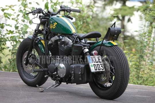 Thunderbike Schwingsattel Fellow S (33x28cm) | mit Logo - 11-70-050