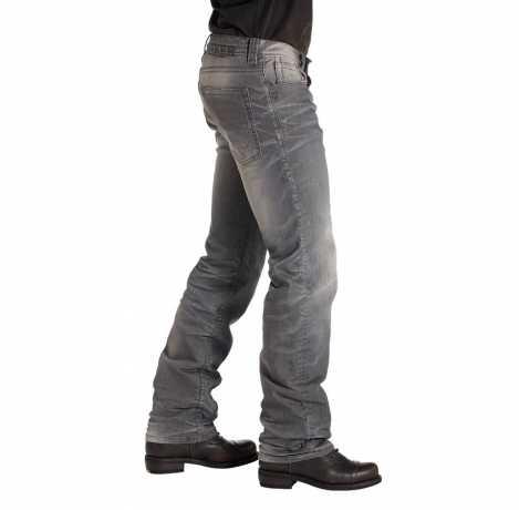 Rokker Rokker Biker Jeans The Rebel gray  - 1212V