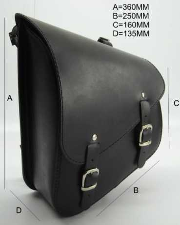 Thunderbike Ledrie Solo Seitentasche  - 14-72-010