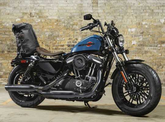 Harley-Davidson Kipphebelgehäuseabdeckung schwarz Wrinkle  - 17655-05